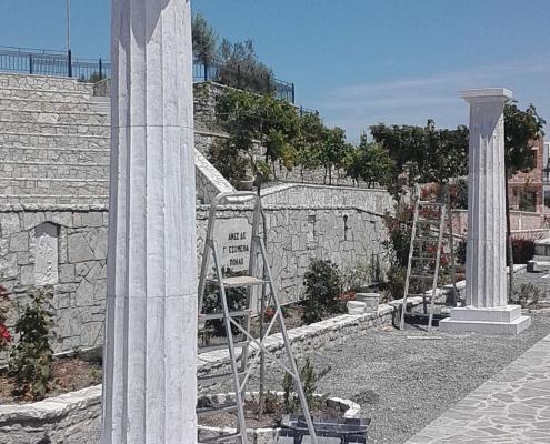 Μαρμάρινες Κολώνες